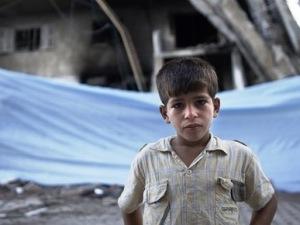 bambini colpiti dal conflitto in Siria