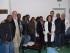 Gli operatori sanitari angolani con lo staff medico della Asl di Pescara