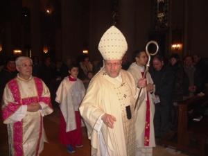 Valentinetti al Pontificale pasquale