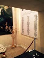 La Cappella della memoria, a L'Aquila, nella quale sono impressi i 309 nomi delle vittime del sisma