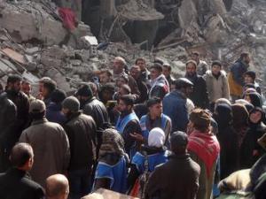 Siria:Isis-al Qaida controllano campo profughi Yarmouk