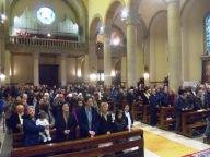 Tanti i fedeli presenti ieri nella Cattedrale di San Cetteo