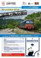 L' itinerario del treno della Liberazione