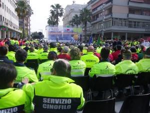 Erano duemila i volontari di Protezione civile riunitisi sabato a Pescara