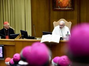 Papa Francesco interviene alla sessantottesima Assemblea generale dei vescovi italiani