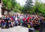Studenti e autorità, insieme, al Mulino storico Brandolini