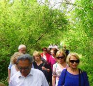 Gli studenti dell'Università della terza età visitano il Parco