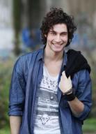 Il giovane attore Simone Riccioni