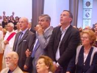 Il prefetto di Pescara, Vincenzo D'Antuono, il presidente della Regione Abruzzo Luciano D'Alfonso e il sindaco Marco Alessandrini