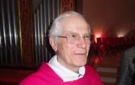 Mons. Vincenzo Amadio, vicario generale dell'arcidiocesi di Pescara-Penne, al termine della Santa Messa