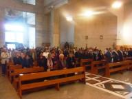 I fedeli intervenuti al Santuario