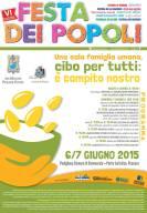 Il programma ufficiale della Festa dei popoli 2015