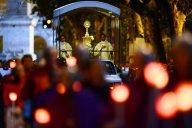 La processione del Corpus Domini, verso la Basilica di Santa Maria Maggiore