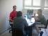 Una riunione per l'elaborazione di un progetto d'impresa sociale