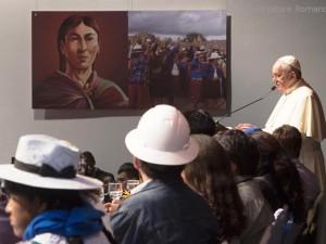 Papa Francesco incontra i movimenti popolari