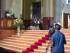 L'arcivescovo Valentinetti pronuncia l'omelia davanti le telecamere Rai