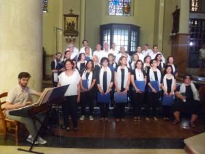 Il coro liturgico del movimento Pro Sanctitate di Pescara