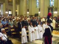 Tanti i fedeli pescaresi che hanno partecipato alla Santa Messa