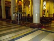 La Cattedrale di San Cetteo si prepara ad accogliere le telecamere