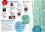 Il programma dell'evento e la scheda d'iscrizione