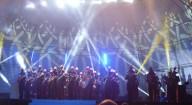 L'esibizione della Fanfara dei Carabinieri