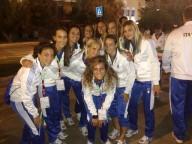 Le ragazze della nazionale  azzurra