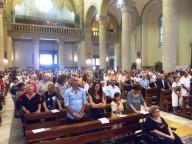 La Cattedrale di San Cetteo gremita per celebrare i 40 anni di sacerdozio dell'abate Santuccione
