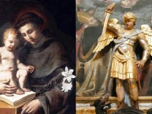 Sant'Antonio di Padova e San Michele Arcangelo, patroni di Montesilvano