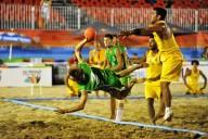 Una gara di handball