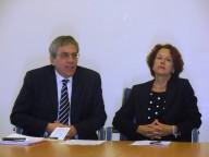 Cesare Zucconi, segretario Comunità di Sant'Egidio, e Maria Claudia Di Paolo, Provveditore Abruzzo-Molise