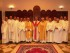 I diaconi che ieri sera hanno servito la messa di ringraziamento, con l'abate Santuccione e l'abate emerito Natoli