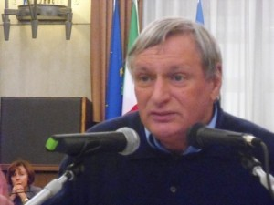 Don Luigi Ciotti, fondatore di Libera, intervenuto ieri a Pescara