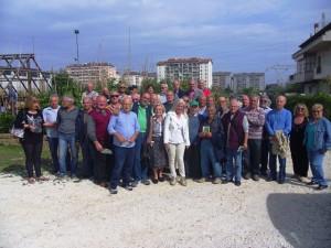 I 53 pensionati che coltiveranno gli Orti d'oro dell'associazione Domenico Allegrino