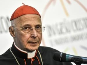 Il cardinale Angelo Bagnasco, presidente della Conferenza episcopale italiana e vice presidente del Consiglio delle conferenze episcopali d'Europa