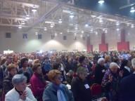 Il migliaio di partecipanti al Convegno regionale di Rinnovamento nello Spirito