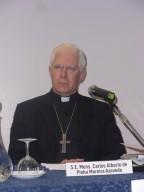 Mons. Carlos Alberto de Pinho Moreira Azevedo, segretario Pontificio Consiglio della cultura