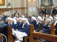 La delegazione dell'Unitalsi presente alle esequie