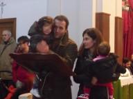 David e Bianca con le loro figlie