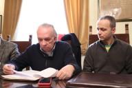 L'assessore Giuliano Diodati con don Cristiano Marcucci