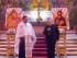 Padre Alin Iarca, parroco di San Simeone il Giusto e Anna Profetessa, con l'arcivescovo di Pescara-Penne, monsignor Tommaso Valentinetti