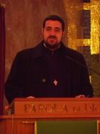Padre Alin Iarca, sacerdote ortodosso