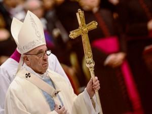Papa Francesco celebra la Santa messa nella solennità di Maria madre di Dio e nella Giornata mondiale della pace