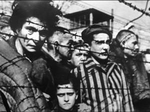 Alcuni prigionieri nei campi di concentramento nazisti