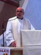 Padre Cesare Campagnoli, parroco della chiesa del Cristo Re