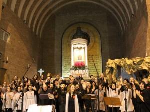The original NewPort Gospel singers in concerto