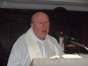 Don Fulvio Di Fulvio, parroco di San Cristoforo in Moscufo
