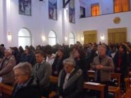 Catechisti ed educatori presenti domenica all'Oasi dello Spirito