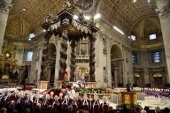 I 700 Missionari della Misericordia presenti nella Basilica di San Pietro