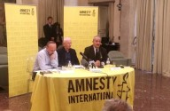 La presentazione del Rapporto di Amnesty International