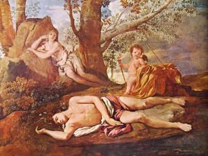 05 Poussin - Eco e Narciso